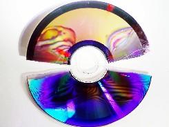 DVD dañado