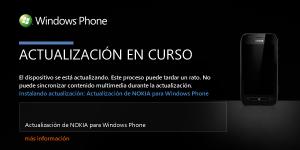 Actualización Firmware Nokia Lumia